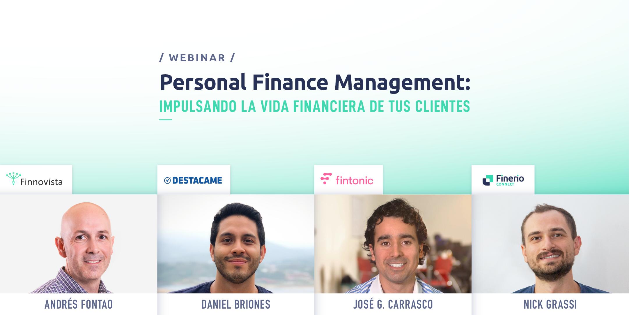 Webinar Personal Finance Management PFM